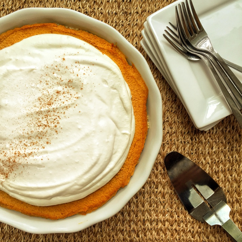 pumpkin pie whole